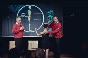 Sportärzte und Orthopäden Dr. Bernhard Zwick (links) und Dr. Robert Kocher